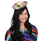 NET TOYS Kleiner Sombrero Hut Mexikaner Minihut Miniatur Mexikanerhut Salvatore Mexiko Strohhut Mexikanischer Sommerhut Faschingshut Tequila Party Kopfbedeckung Karnevalskostüme Accessoires