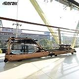 Merax Rudergerät Wasser-Rudergerät mit Faltfunktion,LCD-Display,Bluetooth,APP,Rower Fitnessgeräte für zu Hause