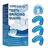 Aufbissschienen,Knirscherschiene Beißschiene,Night Mouth Guard,Mundschutz Verhindern effektiv Zähneknirschen, Verbessert Schnarch Schiene und Atmungshilfe, Schützt Zähne, Zahnfleisch & Kiefer.