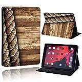 Ständerabdeckung für iPad / iPad Mini / iPad Air / iPad Pro 7.9 9.7 10.2 10.5 11-Zoll-Tablet Folio Flip Case Tablet-Tasche + Stift-Seil und Holz_iPad 2019 7. 10.2