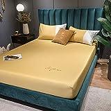 CYYyang Matratzenauflage, und waschbar - Saugvlies, Bettlaken Reine Baumwolle Reine Farbe-14_180 * 200