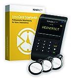 REINER SCT timeCard Starterkit   Zeiterfassung   Für RFID Chip / Transponder und Chipkarten   Inkl. Software & Wandhalterung