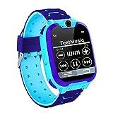 Smartwatch Kinder,Smart Watch für Jungen Mädchen mit Kurzwahl, Musik,Wecker,Spiel,Kamera,Taschenlampe,IPX65 Water Resistant & SOS,gutes Geschenk für Kinder.