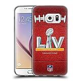 Head Case Designs Offiziell lizenzierte NFL Football 2021 Super Bowl LV weiche Gel-Schutzhülle kompatibel mit Samsung Galaxy S7