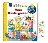 Buchspielbox Wieso? Weshalb? Warum? Junior. Mein Kindergarten + Tiersticker, Kinderbuch ab 2 Jahren