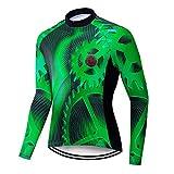 Fahrradtrikot für Herren, Winter, langärmelig, Fahrrad-Shirts, Tops, MTB, Rennrad, Fahrradkleidung, Shirt, Gear Cycle Kleidung, CC6467 XL
