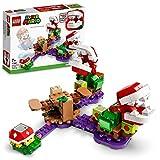 LEGO 71382 Super Mario Piranha-Pflanzen-Herausforderung – Erweiterungsset, Limonadendschungel, sammelbares modulares Spielset mit Stacheliger Fig