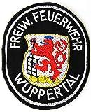 Freiwillige Feuerwehr - Wuppertal - Ärmelabzeichen - Abzeichen - Aufnäher - Patch - Motiv 2