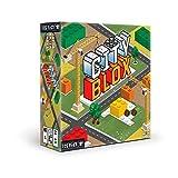 TCG Factory City BLOX Brettspiel für Erwachsene und Kinder ab 6 Jahren, mit Bausteinen und Puzzle-Ästhetik, 3 Schwierigkeitsstufen, 2 bis 4 Spieler (TCGCITYBLOX001)
