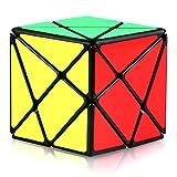 TOYESS Axis Cube 3x3, 3D Puzzle Würfel Spielzeug Geschenkverpackung für Kinder & Erwachsene, Schwarz