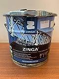 Kaltverzinkung 96% Zink / Zinkfarbe ZINGA Zinkstaubfarbe Flüssig-Zink (1KG)