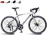 aipipl Mountainbike Rennrad Herren MTB 14 Speed 26 Zoll Räder Für Erwachsene Damen Offroad Bike