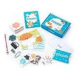 Foldio | Programmieren lernen für Kinder | Komplettset mit Calliope mini - Lernspielzeug, Experimentierkasten, Coding, ab 7 Jahren