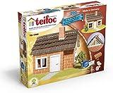 Teifoc Fachwerkhaus TEI 4300 Steinbaukasten Ziegel Mörtel Werkzeug Anleitung