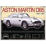 OPO-T Aston Martin DB5 Large Metall Zeichen