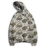 XDJSD Herren Sweatshirt Hoodie Große Herren Sportjacke Drachendruck Pullover Herren und Damen Print Sweatshirt Pullover Pullover Hoodie