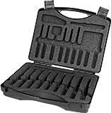 Rennsteig leer Werkzeugkoffer für bis zu 20 hochwertige Ein-und Ausziehwerkzeuge/Pick Tools/Release Tools