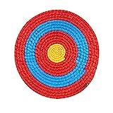 perfecthome Bogenschießziel,50x50cm Runde Zielscheibe Strohscheibe Coiled Archery Straw Target für Freiensport Bogenschießen,Bogensport, Pfeil Bogen
