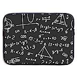 Laptop-Tasche Algebra Geometrie Zusammenfassung Mathe Laptop-Hülle Schutzhülle wasserdichte Neopren-Aktentasche 15 Zoll