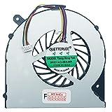 (4-PIN) Lüfter Kühler Fan Cooler kompatibel für Toshiba Satellite C855-1D8, C855-1UU, C855-2CK, C855D-15X, C855-1D9, C855-1UV, C855-2CL, C855D-15Z, C855-1DC, C855-1UW, C855-2CM, C855D-160