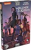 Pegasus Spiele 76007G - Puzzle: Die Legende von Korra (Die Ruinen des Imperiums), 500 T