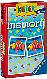 Ravensburger 23103 - Kindermemory, der Spieleklassiker für die ganze Familie, Merkspiel für 2-8 Spieler ab 4 J