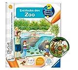 Collectix Ravensburger tiptoi ® Buch | Entdecke den Zoo + Kinder Tier-Sticker | Kinderbuch ab 4 Jahren