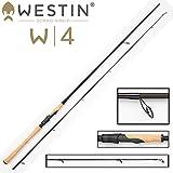 Westin W4 Powerlure 240cm XH 25-80g Spinnrute auf Zander, Hecht & Barsch, Spinnrute für Stationärrolle, Angelrute zum Spinnangeln