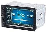 CREASONO Doppel DIN Autoradio: 2-DIN-MP3-Autoradio mit Touchdisplay, Bluetooth, Freisprecher, 4X 45 W (Radio 2 DIN)