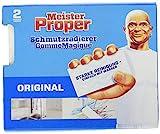 Meister Proper Schmutzradierer (2er Pack) Original, Radierschwamm für strahlende Ob