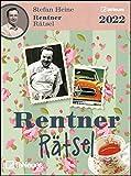 Stefan Heine Rentnerrätsel 2022 - Tagesabreißkalender - 11,8x15,9 - Rentnerkalender - Rentnerrätsel - Rätselkalender