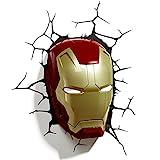 3D Light FX Marvel Iron Man Maske,3D-Deko, LED-W