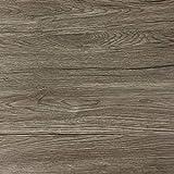 [12,56€/m²] Klebefolie in dunkler Holz-Optik [200 x 67,5cm] I Selbstklebende Folie für Möbel Küche & Deko I Selbstklebefolie hitzebeständig & abwaschbar I 3D Holz-Maserung Dekor 'Sommer-Eiche'