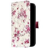 Uposao Kompatibel mit Samsung Galaxy S20 Plus Handyhülle Bunt Bling Glitzer Glänzend 3D Muster Tasche Schutzhülle Brieftasche Leder Hülle Klapphülle Flip Case Kartenfächer Magnet,Rose Blumen