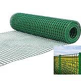 Grünes Kunststoffgitter Barrier Sicherheitszaunnetz, Garten Anti-Diebstahl-Netz, Maschenweite 3x3cm, Benutzt Für Geflügelzaun Geschreddertes Hühnchen , 2 Größen ( Color : Green , Size : 1x6m )