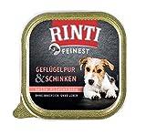 Finnern - Rinti 11x 150g Feinest Geflügel Pur & Schinken für Sensible Hunde