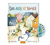Buchspielbox Das Alles ist Familie + Kinder-Sticker I Bilderbuch zum Vorlesen für Kinder ab 4 Jahren