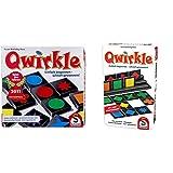 Schmidt Spiele 49311 Qwirkle, Legespiel & 51410 51410-Qwirkle, Weiss