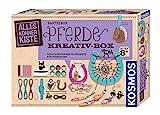 KOSMOS 604363 AllesKönnerKiste Pferde Kreativ-Box. DIY-Bastelset für Mädchen und Jungen ab 8 Jahren, das ideale Geschenk-Set für den Kindergeburtstag. Die schönsten Bastelprojekte für Pferdefans