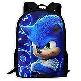 The Hedgehog Rucksack, Reisetasche, Laptoprucksack, Schultasche für Jungen und Mädchen