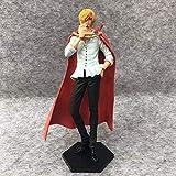 Gddg Anime Figuren EIN Stück König der Modellierung Kuchen-Insel Hochzeit KOA Sanji Fancy Brin Foto Spielzeug Modell Statue Puppe Skulptur Premium Version Höhe 25 cm Anime Charakter Modell