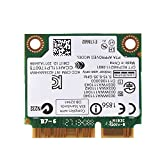 Mavis Laven PCI-E-Netzwerkkarte, Dual-Band-Mini-PCI-E-WLAN-Karte mit 300 Mbit/s, 2,4 / 5G für Desktop-PCs mit Intel 945/965 / GM45 / PM45