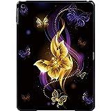 Butterfly Tablet Cover Hülle für IPad / IPad Mini / IPad Air / IPad Pro Fashion Ultradünne Hartschalen-Hülle-Goldener Schmetterling_iPad Mini 1 2 3