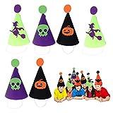 Filz-Hut, Party-Hut, Kostüm, 25,4 x 15,2 cm, Zwergenhut für Kostüm-Zubehör, Partyzubehör, 6 Stück