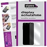 dipos I 2X Schutzfolie klar kompatibel mit Xido Z120 Folie Displayschutzfolie