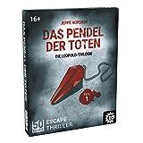Game Factory 646256 50 Clues-Das Pendel der Toten, Escape-Thriller zum Mitspielen und Rätseln, Exitgame, Rätselspiel Krimispiel, Leopold Trilogie, Teil 1