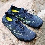 DBSUFV Leichte Schuhe Soft Seaside Beach Schuhe Schnelltrocknende Aqua Wasserschuhe für Männer Frauen Barfuß Sport Tauchen Surfschuhe (Blau)