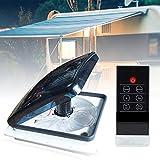 TOPQSC Universal Rv Wohnmobil Dachventilator 12V Vent Wohnmobilventilator mit 3-Gang-Einlass und Auslass für Wohnwagen oder Wohnmobil, Abluft Ventilator Wohnwagen Zuluft und Abluft Wohnmobil