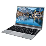 KUU XBook Laptop 14,1 Zoll, 8GB RAM 256GB SSD,Inter Celeron J4115 ultradünnes Notebook PC, Windows 10 Ultrabook PC mit USB 3.0 und Blueetooth 4.2, IPS FHD-B