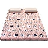 Mattress Dicke Faltbare Bodenschlafmatte, Haushaltsmatratzenauflage, feuchtigkeitsbeständig und atmungsaktiv, weich und bequem, Tatami-Bodenmatratze, 90 * 200CM